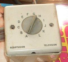 Rediffusion Box