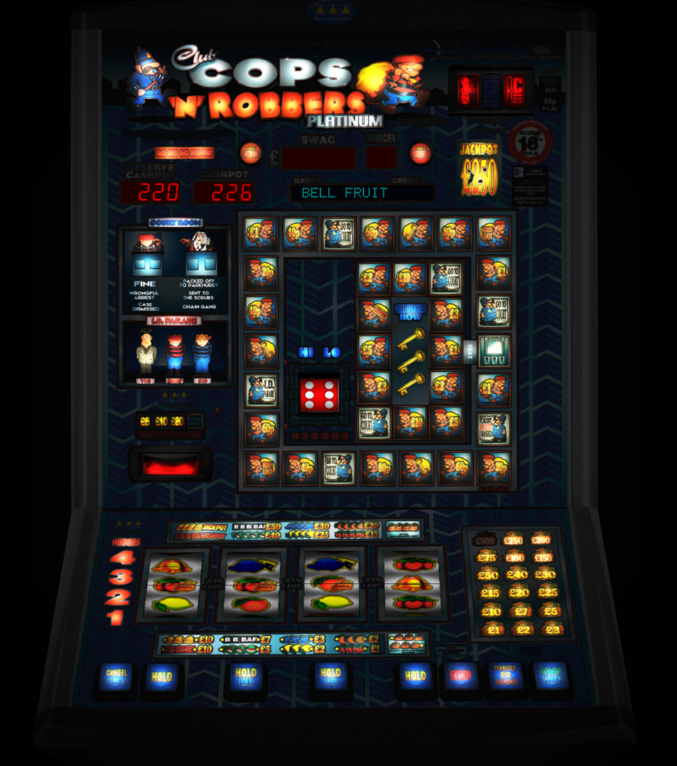 Club Cops 'n' Robbers Platinum £250 Dx