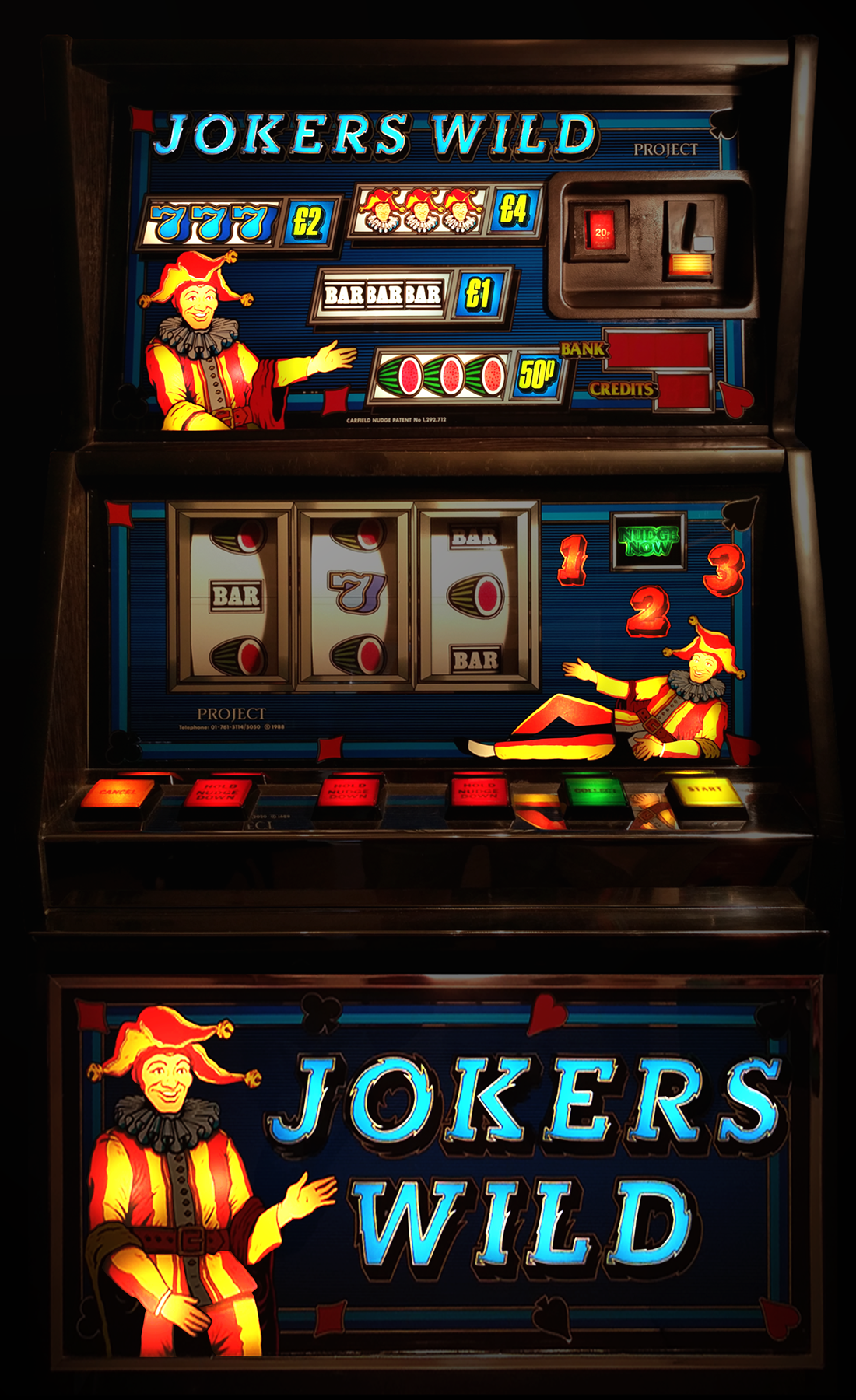 Jokers Wild £4 Dx