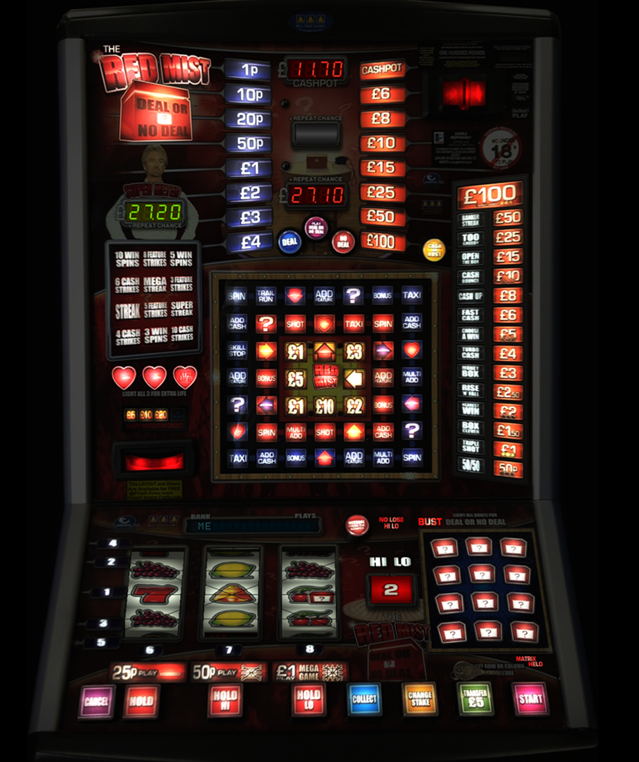 Deal or No Deal - The Red Mist £100 Dx